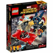 Lego Marvel Avengers Super Heroes Iron Man: Detroit Steel Strikes 76077 377 PCS