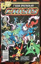 Crisis on Infinite Earths #1 (DC,1985) 1st Blue Beetle in DC (VF)
