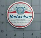 Budweiser sticker logo beer skate cell laptop bumper vinyl decal