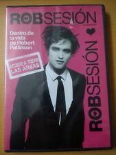 ROBSESSED DVD REGION 1&4 AUDIO ENGLISH SUBTITLES SPANISH ROBERT PATTINSON mexico