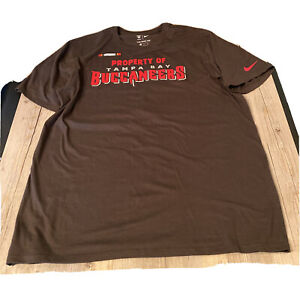 Tampa Bay Buccaneers Nike Athletic Cut Men's Ss T Shirt SZ XL The Nike Tee