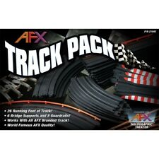 AFX Track Pack Slot Car Expansion Set - 26 Feet of Straights, Curves & Squeezes!