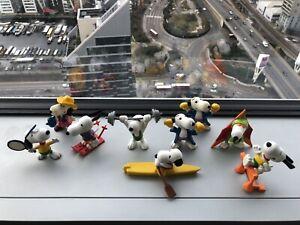 Vintage Peanuts Snoopy 1980's Figures Job Lot