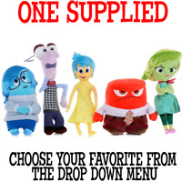 "Disney Pixar INSIDE OUT 10"" (25cm) Plush Soft Toy in box ONE SUPPLIED you choose"
