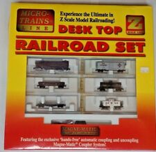 SEALED Micro Trains Z Scale 1998 Lehigh Valley Desk Top Railroad Set 11005-2