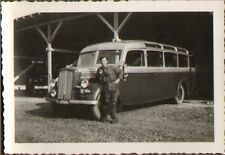 RASTATT ? PHOTO TROUPES FRANCAISES EN ALLEMAGNE AUTOBUS TOA 1947 ?