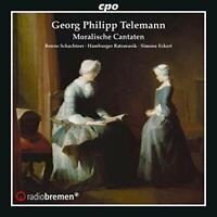 Benno Schachtner - Telemann: Moralische Cantaten [Benno Schachtner; [CD]