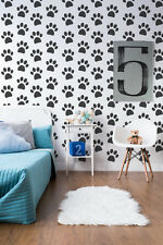 Paw Print Decal, Paw Print Wall Decal, Animal Print Decor, Nursery Wall Decal