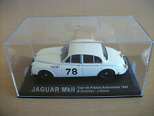 Jaguar Mk11 Bernard Consten - Jack Renel Tour de France Automobile 1960