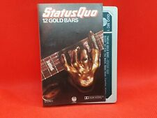 Status Quo - 12 Gold Bars (1980) Cassette RARE  (VG+)