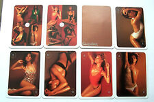 PIN UP SUPERMODEL PHOTOS BY ANDREW HOBBS WIDE VINTAGE PLAYING CARDS NON STANDARD