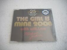 MICHAEL JACKSON  /  THE GIRL IS MINE 2008  25th anniversary  cd-single