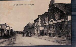 CHATEAU-LE-NEUF     Rue Principale