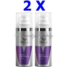 Wella Professionals Velvet Amplifier Style Primer 1.88 oz Travel Size (Lot of 2)