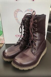 Heavenly Feet Scava Ladies Black Memory Foam Chukka Ankle Boots Lace//Zip Up