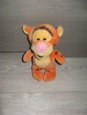 peluche doudou tigrou orange marron rose 23 cm disney nicotoy état neuf
