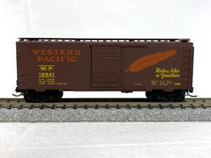 N-Scale - Kadee MTL #20800 - Western Pacific Rd# 19541 - 40' Boxcar - NO BOX