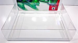 1 Console Box Protector N64 FUNTASTIC SIZES ONLY! Please Read! Nintendo 64 Clear