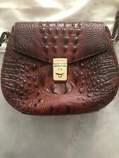 Gorgeous Brahmin Lizzie Pecan Brown Leather