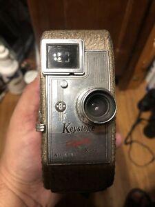 Old Vtg Collectible Keystone 8MM Capri K-30 Nu-6463 Crank Video Camera USA Made