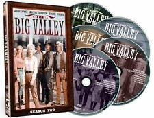 THE BIG VALLEY: COMPLETE SEASON 2  - DVD - Sealed Region 1
