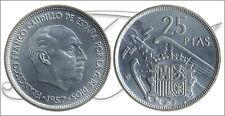 España - Monedas Franco circulación- Año: 1959 - numero 00326 - S/C- 25 pta 1957