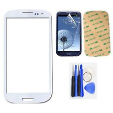 Front Glass Outer Screen Lens For Samsung Galaxy SIII S3 i9300 Replacement New