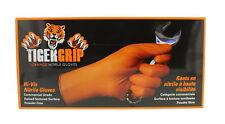 Eppco Tiger Grip Orange Nitrile Gloves 7 Mil  Size Medium