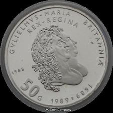 1988 Netherlands Silver Proof 50 Gulden Coin