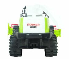 Toyland® 32cm Friction Powered Green Combine Harvester - Farm Toys (ES276)