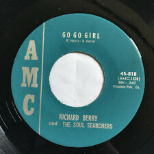"""Richard Berry and the Soul Searchers 45 Go Go Girl /Breaking In NORTHERN SOUL 7"""""""
