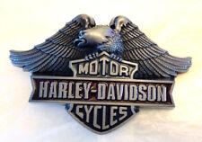 American Eagle HD Biker Belt Buckle-Motorcycle-Solid Built-Bikes
