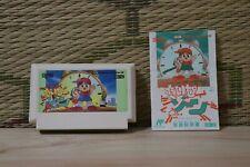 Time Zone w/manual NES Famicom Japan Nintendo Very Good condition!