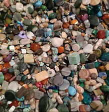 Mixed STONE Bead Soup ~ 15.5 OZ ~ Semi Precious & Others ~ Huge Variety & Sizes