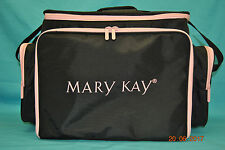 Mary Kay Pink & Black Consultant Organizer Carrier Luggage Large Travel Bag Case