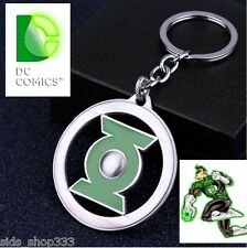 GREEN LANTERN LOGO BRIGHTEST DAY KEY CHAIN NEW COSPLAY