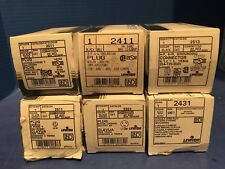 Leviton  Misc Lot of Plugs/Connector, Lot of 6