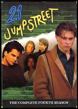 21 JUMPSTREET SEASON 4 COMPLETE 6 DISC DVD SET JOHNNY DEPP Sal Jenco