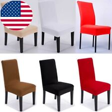Stretch Elastic Dining Chair Covers Wedding Party Home Seat Cover  Slipcovers