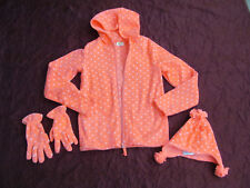 Crazy 8 by Gymboree hooded jacket gloves and hat size 14 new no tags