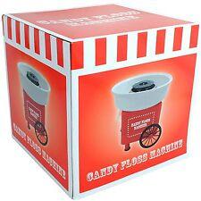 Candy Floss Machine Flavoured Sugar Cotton Wool Maker Sweet Present Gift NEW EU