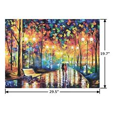 A Walk In The Rain Wood 1000 Piece Jigsaw Puzzle 29.5 x 19.7 Inch