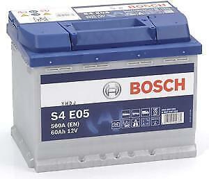 Batterie auto S4E05 12V 60ah / 640A BOSCH EFB START-STOP L2 N60
