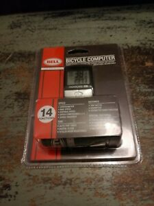 Bell Sports 14-Function Bicycle Speedometer/Odometer Computer 7070593 BRAND NEW