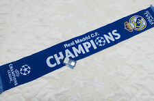 BUFANDA REAL MADRID CHAMPIONS. UEFA CHAMPIONS LEAGUE 2016 FINAL MILAN / MILANO