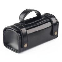 Mens Toiletry Bag Handbag Shaving Travel Clutch Bag Cosmetic Case Dark Black