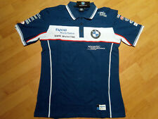 NEW 2019 Official BMW RacingTeam Polo T-Shirt size: XL Motorrad TYCO Moto GP F1.