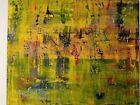 "ORIGINAL OIL PAINTING 60"" X 48"" ARTIST EVELYN SPATZ INSPIRED BY GERHARD RICHTER"