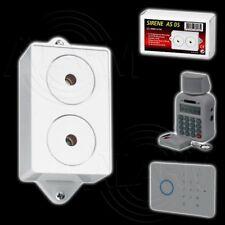 PENTATECH Alarm Sirene AS05 Innensirene 110 dB Alarmanlage Zusatzsirene Indexa