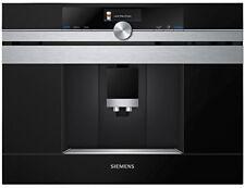 Machines noirs Siemens à café avec broyeur